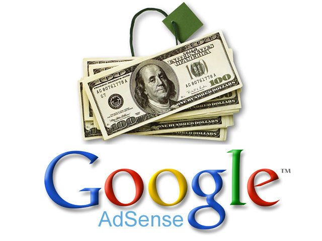 Google adsense float