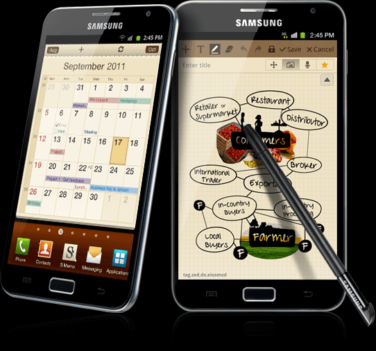 Samsung Galaxy Note vs Google Nexus Prime (Galaxy Nexus)