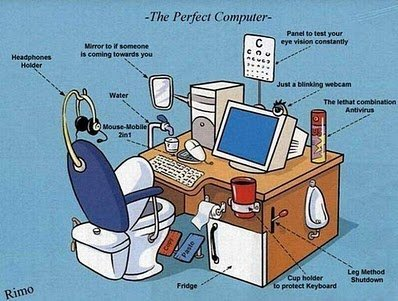 the perfect computer Top Funny Technology Images You Should Take a Look at