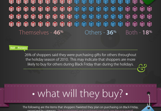 Who's Tweeting About Black Friday 2011? – INFOGRAPHIC