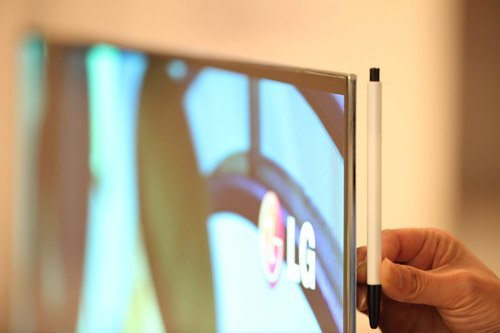 LG uncovers World's Largest OLED TV at 55 inches