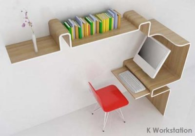 A futuristic Home office furniture design