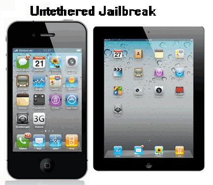 iPhone 4S iPad 2 Untethered Jailbreak
