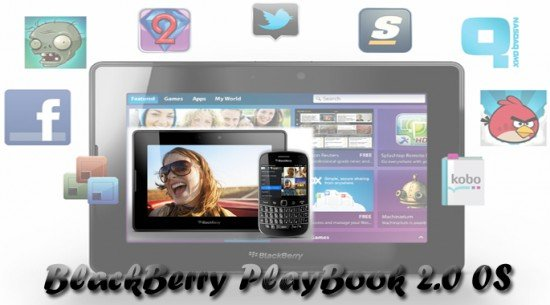 RIM Released Blackerry 2.0 update for PlayBook