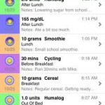 Glucose Buddy iphone app
