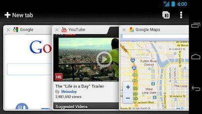 Chrome for Android Phones and Tablets