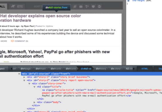 Firefox 10 Released With New Dev Tools and Full-Screen API