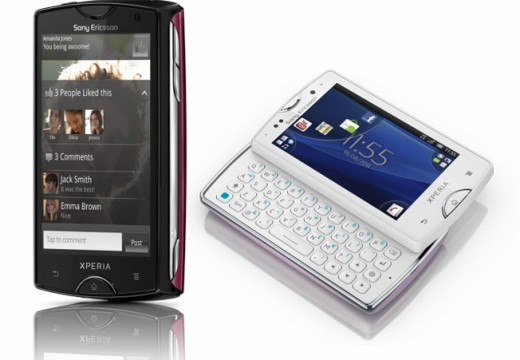 Sony Ericsson Xperia Mini & Mini Pro – Ultra-compact design, great features