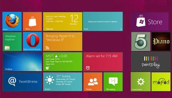 windows 8 metro apps trick - how to convert win 7 to windows 8 interface easily
