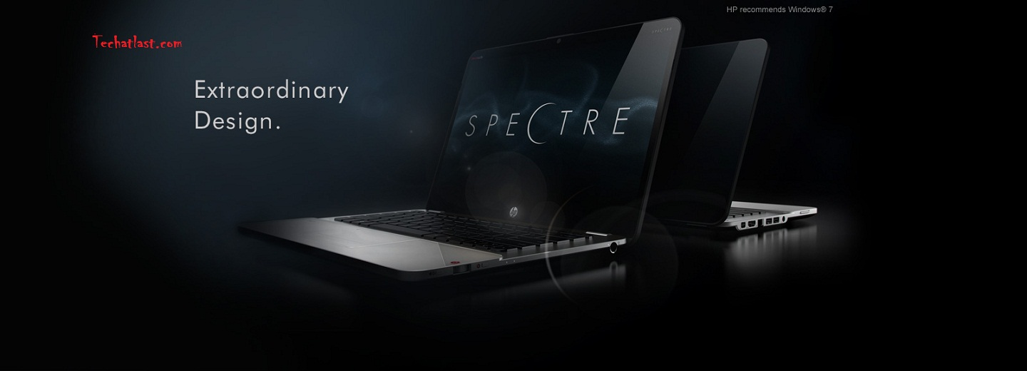 HP Envy 14 Spectre laptop