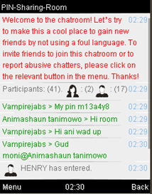 Mozat Java Chatroom 2
