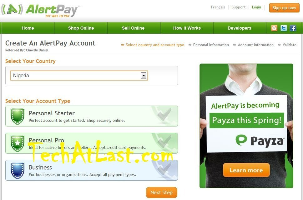 How to Setup PayZa Account from Scratch with Little