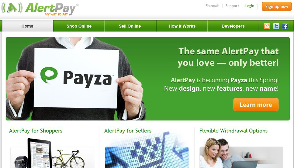 How to create a payza account from A to Z