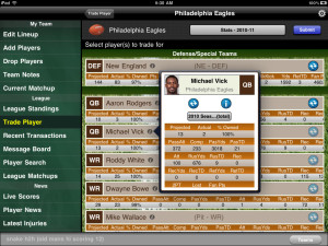 Fantasy Football Monster '10 is one of the great Fantasy Football Apps online
