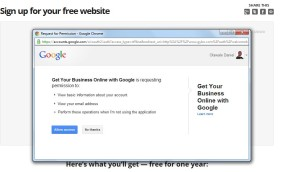 intuit - winsconsin get online google initiative link account with Google account popup