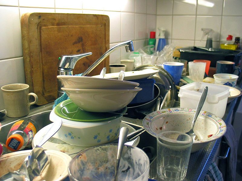Dirty dishes - home management apps