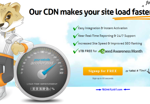 Get Free 1TB MAXCDN Account Now