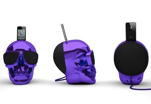 Jarre Aeroskull speaker will work with the iPhone 5