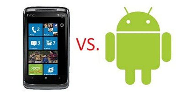 Android vs Windows - the comparison of two giants