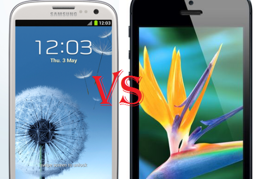 iPhone 5 vs Samsung Galaxy S3: Battle line drawn