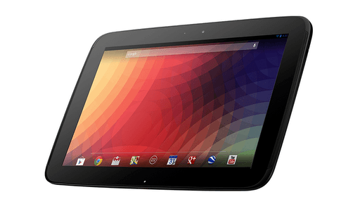 Google Nexus 10 tablet arrives, hotter than the iPad