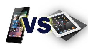 Apple iPad mini and Google Nexus 7