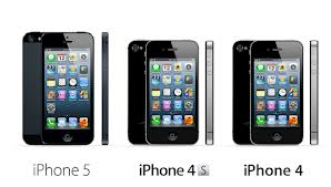 iPhone 5 Vs iPhone 4S Vs iPhone 4