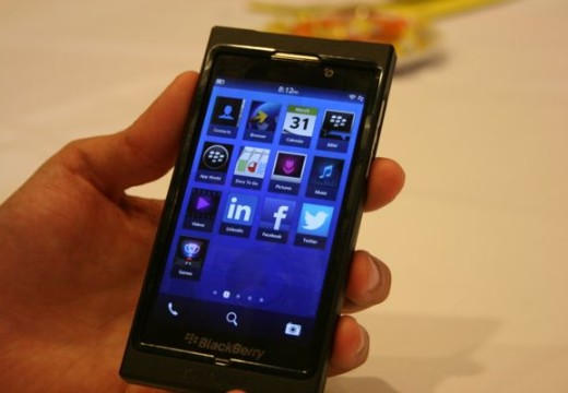 RIM Blackberry 10 will be arriving in early 2013