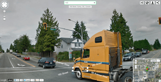 Instant Google Street view, a new innovative service to expect from Google