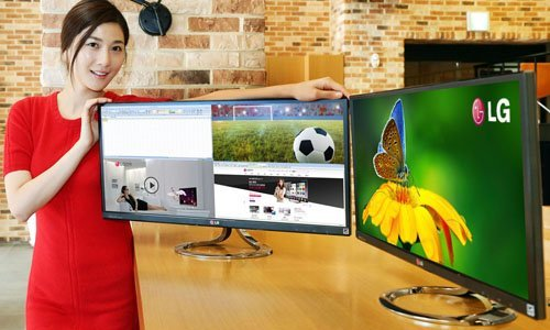 LG releases the LG EA93 Panoramic monitor with aspect ratio 21:9