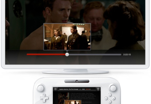 Netflix arrives on the Wii U console supporting two screens: the console's GamePad and 1080p on your TV