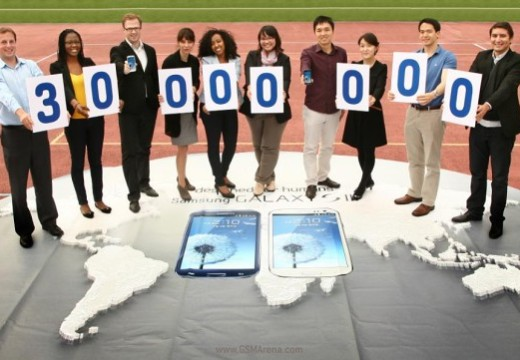Samsung Galaxy S III crosses 30 million unit sales