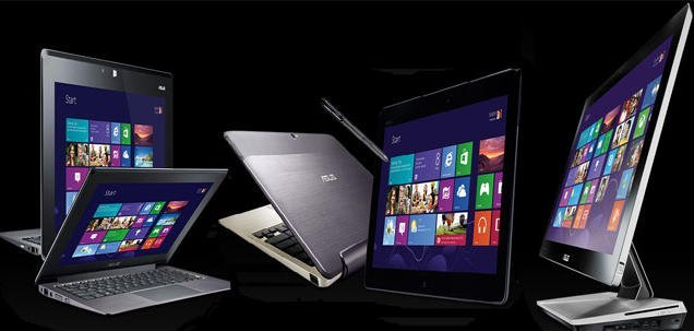 Asus Windows 8 devices