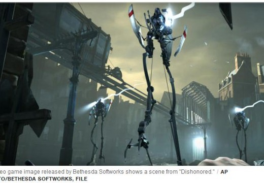 "The top Video games of 2012: ""Dishonored"" got the first on list"