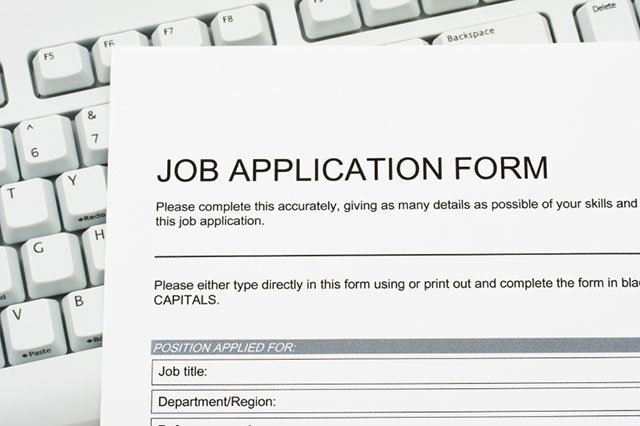Applicant tracking systems job application sample