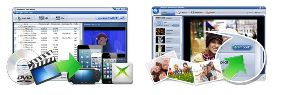 TechAtLast first 2013 giveaway, Aimersoft DVD ripper and DVD creator