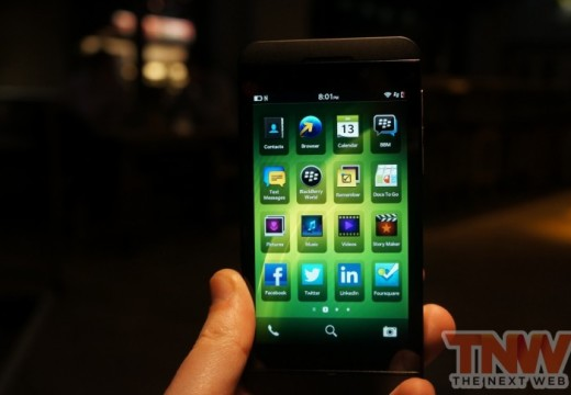 Specs and Features of the new BlackBerry Z10 Smartphone from RIM