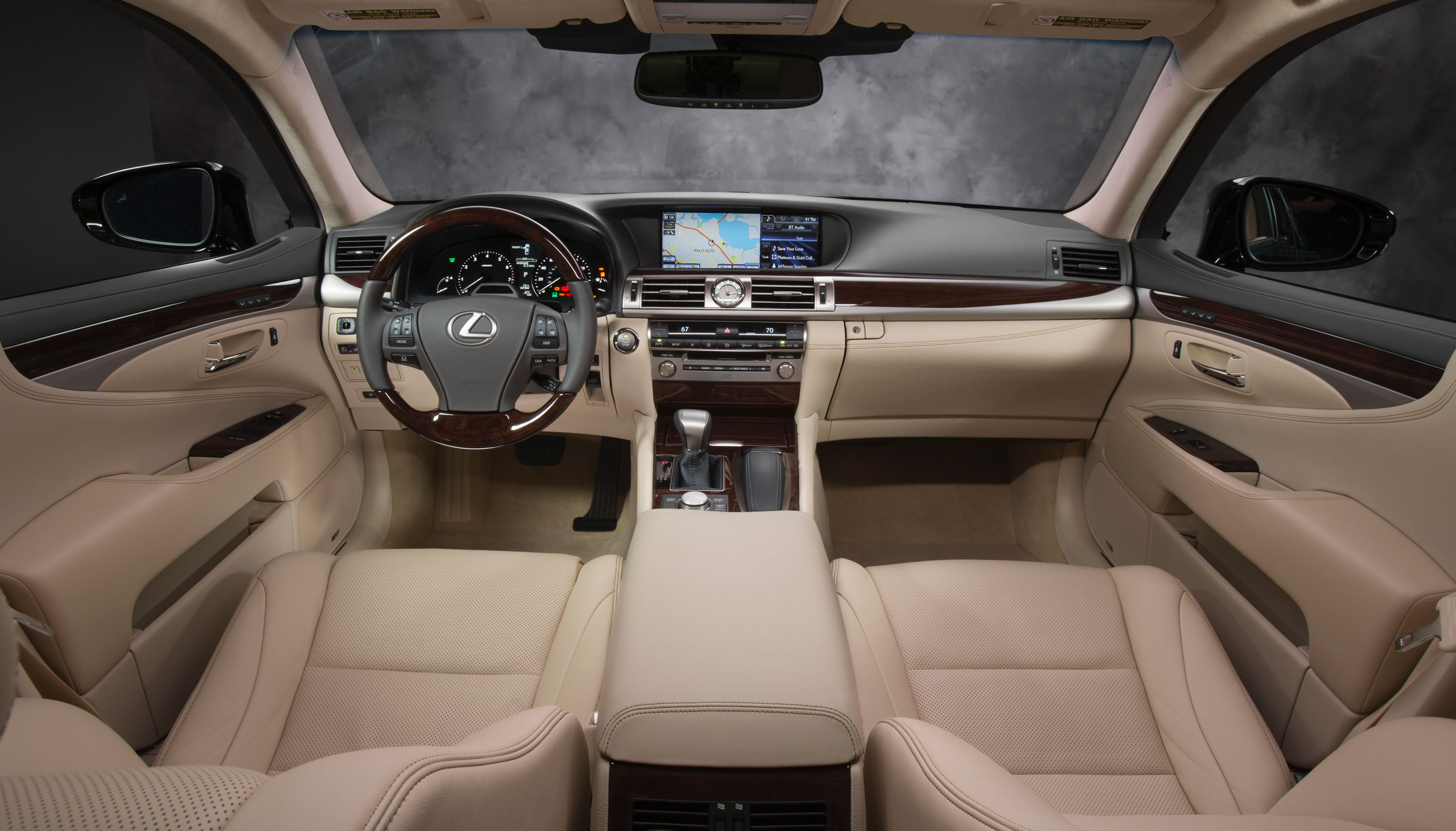 Lexus LS with Electronically Controlled Lighting System, AIS and Climate Concierge: