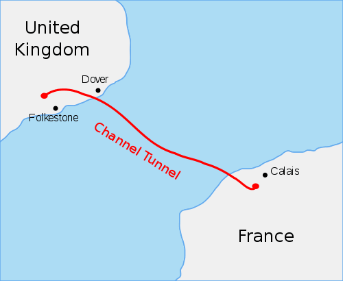The channel tunnel construction planning
