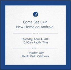 facebook phone home screen Facebook Phone? Whos Going To Buy?
