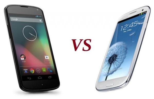 Google Android Vs Samsung Android