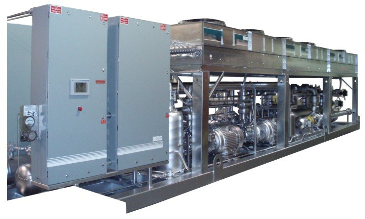 Industrial Cooling Systems outside