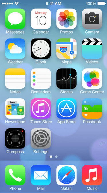 iOS 7 beta 2 is out with bug fixes and iPad UI