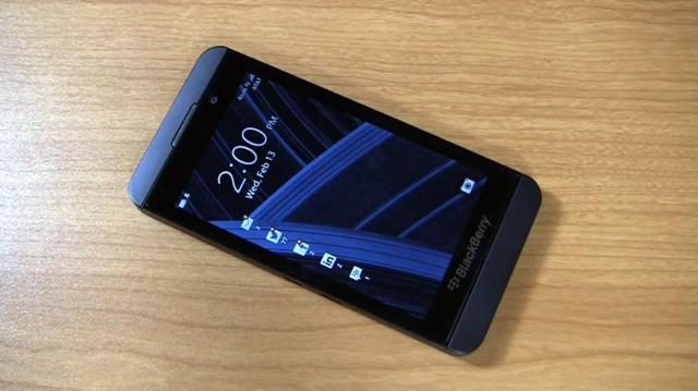 RIM's BlackBerry A10