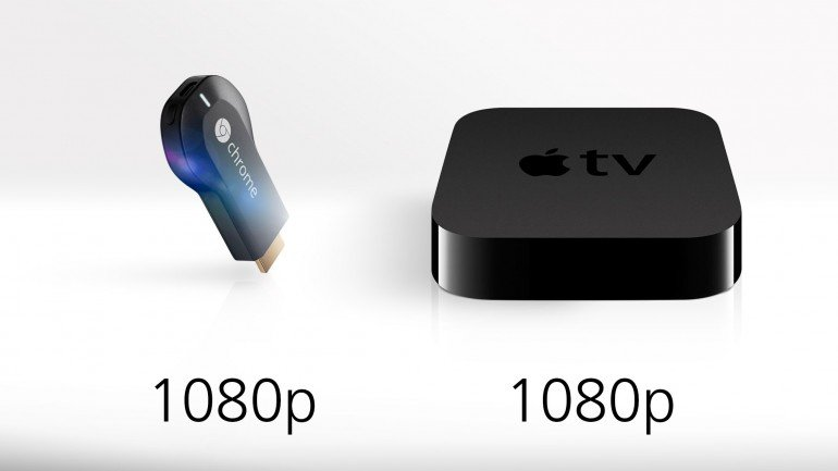 Both devices comes with a maximum output at 1080p (full HD content for you)