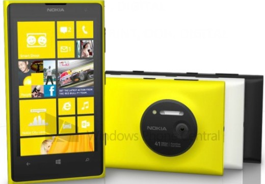 More revelation about the Nokia Lumia 1020, color varieties, 41 megapixel Pureview Camera