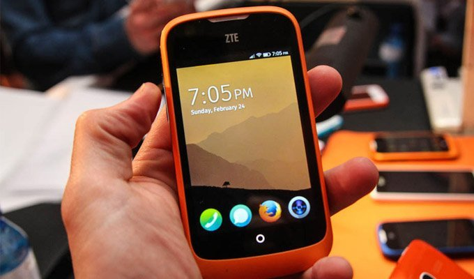 ZTE-Open Firefox OS Phone