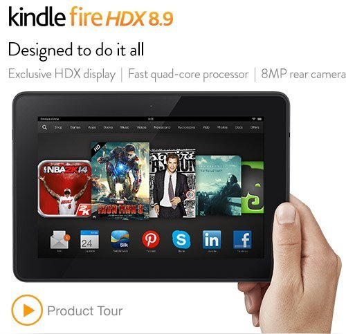 Amazon to hit the market with series of Kindle Fire HD and HDX tablets, running the new Fire OS 3.0 'Mojito'