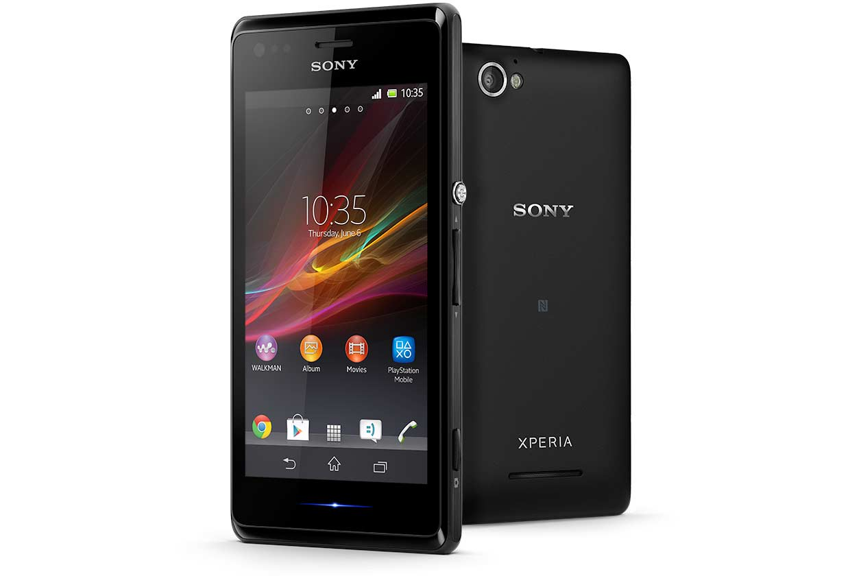 Sony Xperia M smartphone review