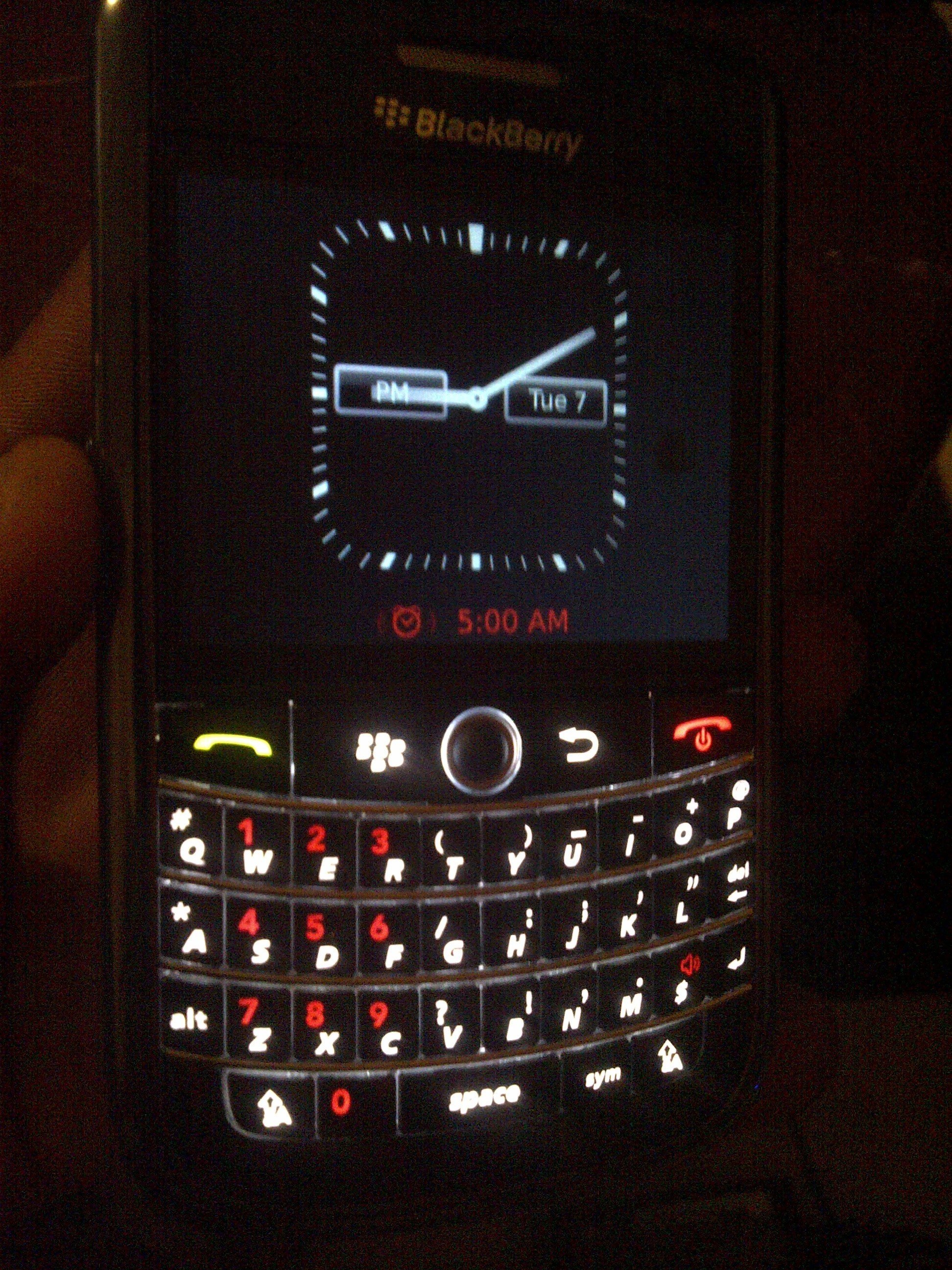 BlackBerry Home Screen